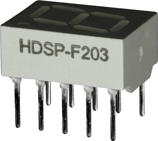 7-Segment-Anzeige Rot 10.16 mm 2 V Ziffernanzahl: 1 Broadcom HDSP-F203