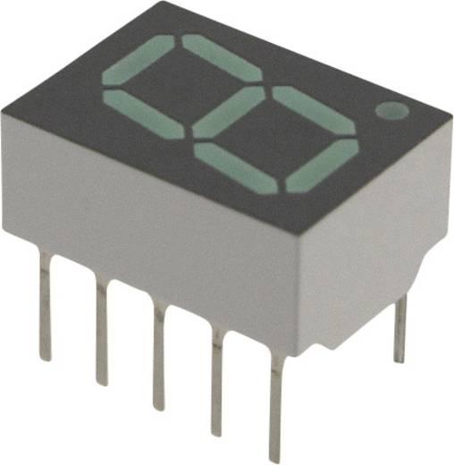 7-Segment-Anzeige Grün 10.16 mm 2.1 V Ziffernanzahl: 1 Broadcom HDSP-F503