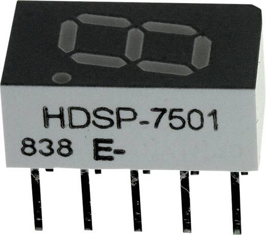 7-Segment-Anzeige Rot 7.62 mm 2 V Ziffernanzahl: 1 Broadcom HDSP-7501