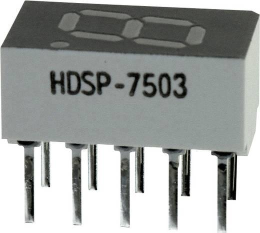 7-Segment-Anzeige Rot 7.62 mm 2 V Ziffernanzahl: 1 Broadcom HDSP-7503