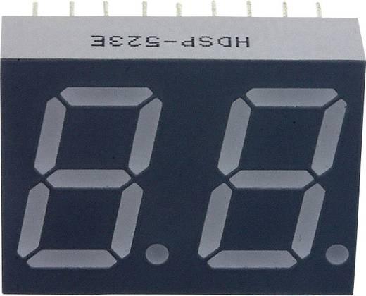 7-Segment-Anzeige Rot 14.22 mm 2.05 V Ziffernanzahl: 2 Broadcom HDSP-523E