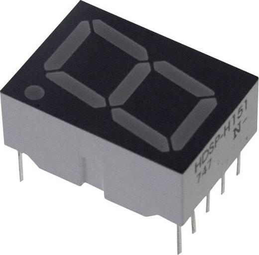 7-Segment-Anzeige Rot 14.22 mm 1.8 V Ziffernanzahl: 1 Broadcom HDSP-H151