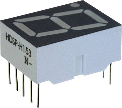 7-Segment-Anzeige Rot 14.22 mm 1.8 V Ziffernanzahl: 1 Broadcom HDSP-H153