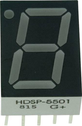 7-Segment-Anzeige Rot 14.22 mm 2.1 V Ziffernanzahl: 1 Broadcom HDSP-5501
