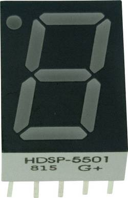 Afficheur 7 segments Broadcom HDSP-5501 Nombre de chiffres: 1 rouge 14.22 mm 2.1 V 1 pc(s)