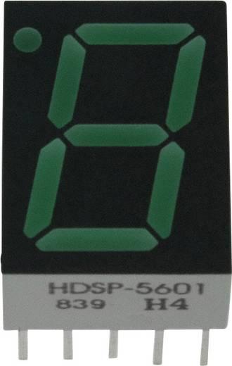 7-Segment-Anzeige Grün 14.22 mm 2.1 V Ziffernanzahl: 1 Broadcom HDSP-5601