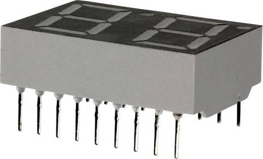 7-Segment-Anzeige Rot 14.22 mm 2.1 V Ziffernanzahl: 2 Broadcom HDSP-5521