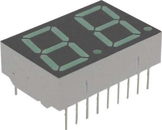 7-Segment-Anzeige Grün 14.22 mm 2.1 V Ziffernanzahl: 2 Broadcom HDSP-5623
