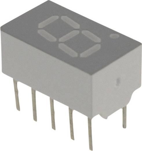 7-Segment-Anzeige Rot 7.62 mm 1.7 V Ziffernanzahl: 1 Broadcom HDSP-A103