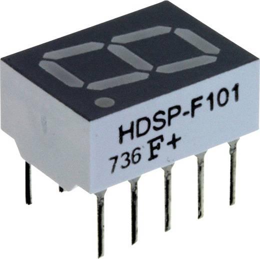 7-Segment-Anzeige Rot 10.16 mm 1.7 V Ziffernanzahl: 1 Broadcom HDSP-F101