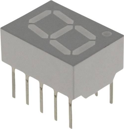 7-Segment-Anzeige Rot 10.16 mm 1.7 V Ziffernanzahl: 1 Broadcom HDSP-F103