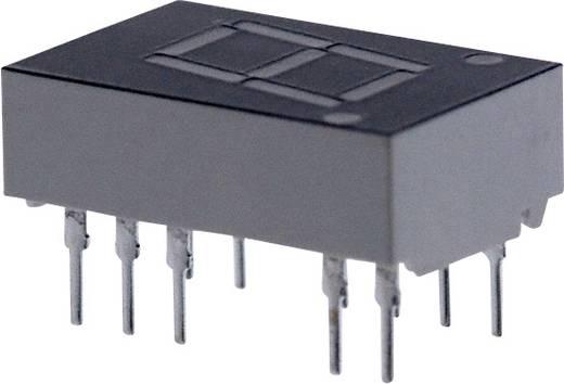 7-Segment-Anzeige Rot 11 mm 1.7 V Ziffernanzahl: 1 Broadcom HDSP-E101