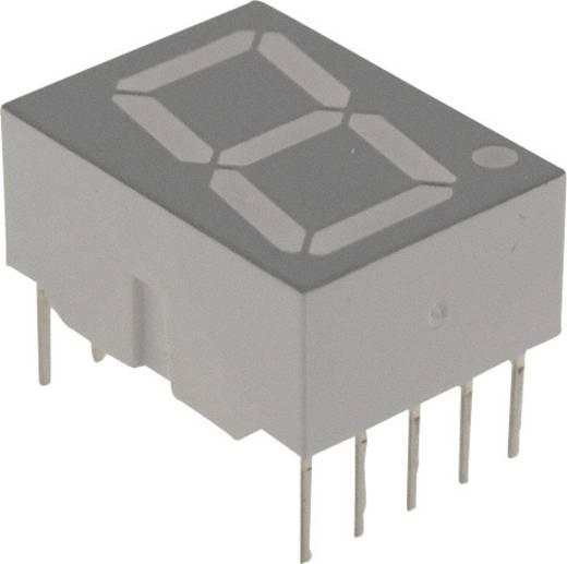 7-Segment-Anzeige Rot 14.22 mm 1.7 V Ziffernanzahl: 1 Broadcom HDSP-H101