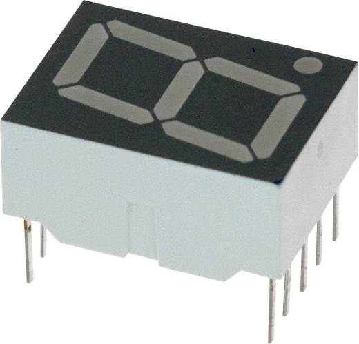 7-Segment-Anzeige Rot 14.22 mm 1.7 V Ziffernanzahl: 1 Broadcom HDSP-H103