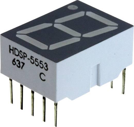 7-Segment-Anzeige Rot 14.22 mm 1.7 V Ziffernanzahl: 1 Broadcom HDSP-5553
