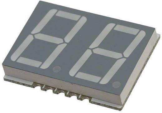 7-Segment-Anzeige Rot 14.22 mm 2 V Ziffernanzahl: 2 Broadcom HDSM-541C