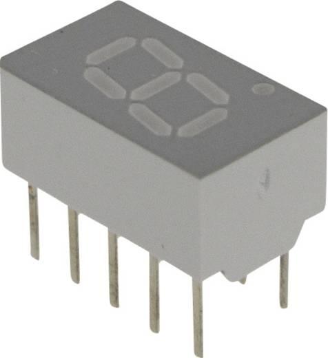 7-Segment-Anzeige Gelb 7.62 mm 2.2 V Ziffernanzahl: 1 Broadcom HDSP-7403