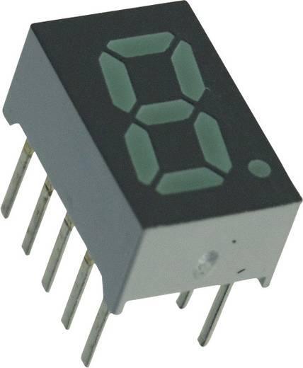 7-Segment-Anzeige Grün 7.87 mm 2.1 V Ziffernanzahl: 1 Broadcom HDSP-U501