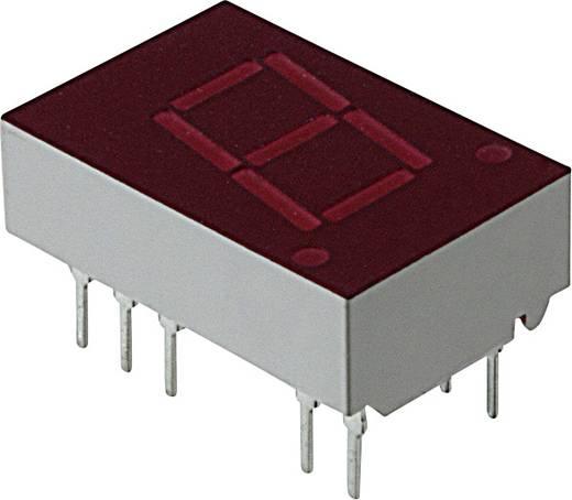 7-Segment-Anzeige Rot 11 mm 2.1 V Ziffernanzahl: 1 Broadcom 5082-7653-DE000