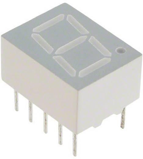 7-Segment-Anzeige Rot 10.16 mm 2.05 V Ziffernanzahl: 1 Broadcom HDSP-313E