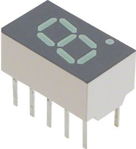7-Segment-Anzeige Grün 7.62 mm 2.1 V Ziffernanzahl: 1 Broadcom HDSP-7801-JK000