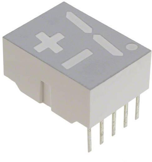 7-Segment-Anzeige Rot 14.22 mm 1.7 V Ziffernanzahl: 1 Broadcom HDSP-H108