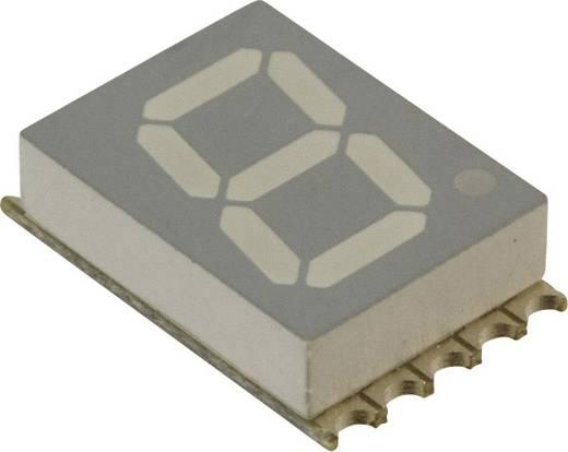 7-Segment-Anzeige Weiß 10 mm 2.95 V Ziffernanzahl: 1 Broadcom HDSM-431W
