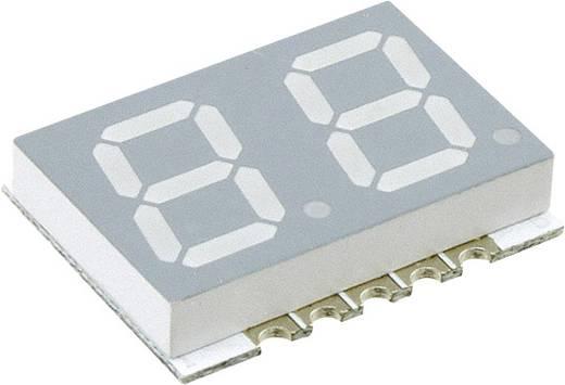 7-Segment-Anzeige Weiß 10 mm 2.95 V Ziffernanzahl: 2 Broadcom HDSM-441W