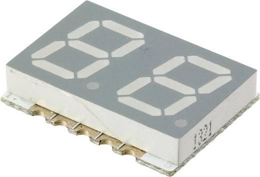 7-Segment-Anzeige Rot 10 mm 2 V Ziffernanzahl: 2 Broadcom HDSM-443C
