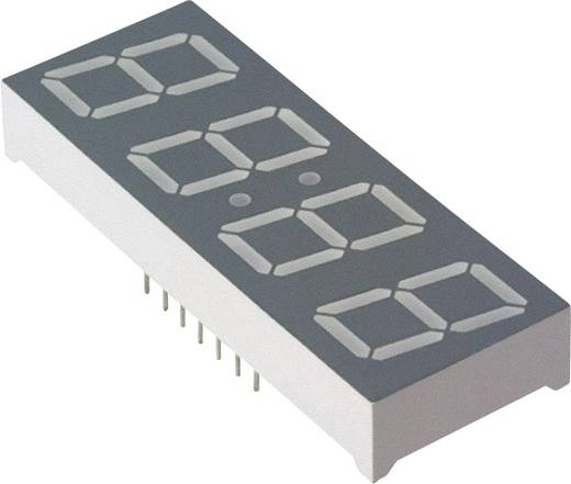 7-Segment-Anzeige Rot 14.22 mm 2.05 V Ziffernanzahl: 4 Broadcom HDSP-B04E