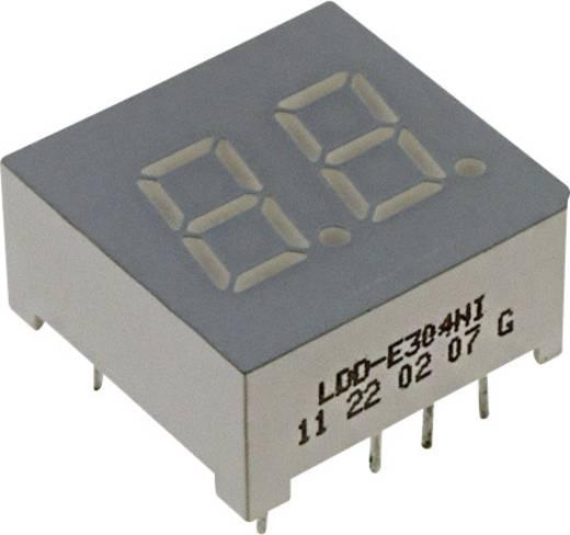 7-Segment-Anzeige Rot 7.62 mm 2 V Ziffernanzahl: 2 LUMEX LDD-E304NI