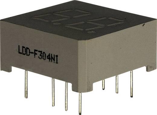 7-Segment-Anzeige Rot 7.62 mm 2 V Ziffernanzahl: 2 LUMEX LDD-F304NI