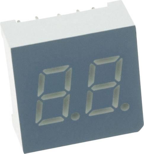 7-Segment-Anzeige Grün 7.62 mm 2.2 V Ziffernanzahl: 2 LUMEX LDD-F302NI