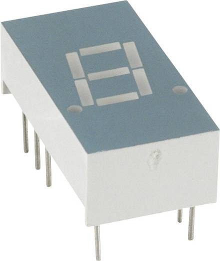 7-Segment-Anzeige Grün 7.8 mm 1.7 V Ziffernanzahl: 1 LUMEX LDS-A306RI