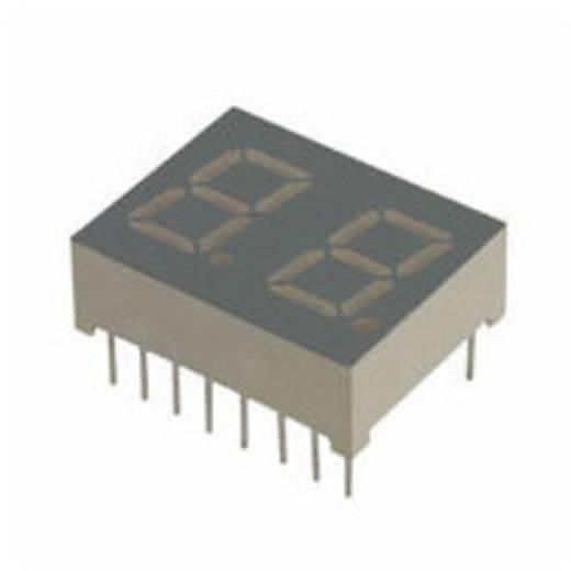 7-Segment-Anzeige Grün 10.2 mm 2.2 V Ziffernanzahl: 2 LUMEX LDD-A402NI