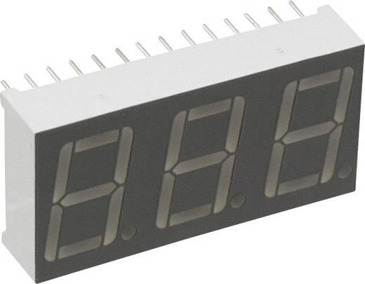 7-Segment-Anzeige Rot 14.22 mm 2.1 V Ziffernanzahl: 3 LUMEX LDT-A514RI