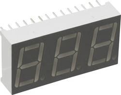 Afficheur 7 segments LUMEX LDT-A514RI Nombre de chiffres: 3 rouge 14.22 mm 2.1 V 1 pc(s)