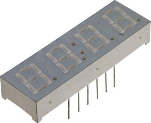 7-Segment-Anzeige Rot 14.22 mm 2 V Ziffernanzahl: 4 LUMEX LDQ-M514RI