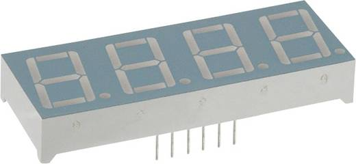 7-Segment-Anzeige Rot 14.22 mm 2 V Ziffernanzahl: 4 LUMEX LDQ-N514RI