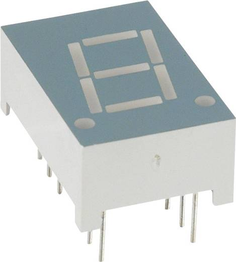 7-Segment-Anzeige Rot 10.92 mm 1.8 V Ziffernanzahl: 1 LUMEX LDS-A416RI