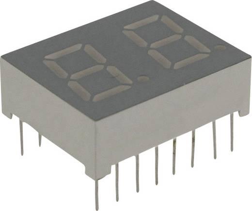 7-Segment-Anzeige Rot 10.2 mm 1.7 V Ziffernanzahl: 2 LUMEX LDD-C406NI