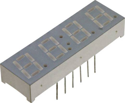 7-Segment-Anzeige Rot 14.22 mm 1.8 V Ziffernanzahl: 4 LUMEX LDQ-M516RI