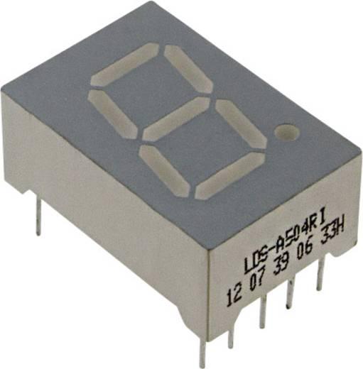 7-Segment-Anzeige Rot 12.7 mm 2 V Ziffernanzahl: 1 LUMEX LDS-A504RI
