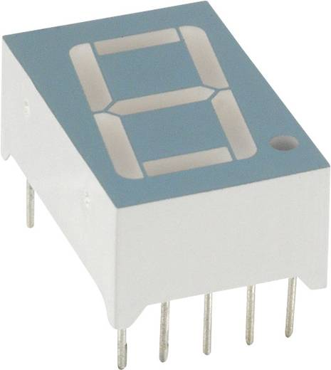 7-Segment-Anzeige Grün 14.2 mm 2.2 V Ziffernanzahl: 1 LUMEX LDS-A512RI