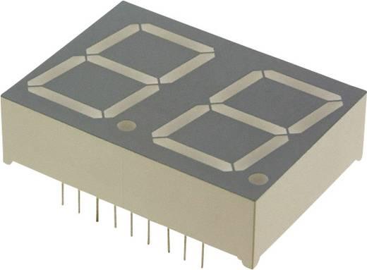 7-Segment-Anzeige Grün 20.3 mm 2.2 V Ziffernanzahl: 2 LUMEX LDD-C812RI