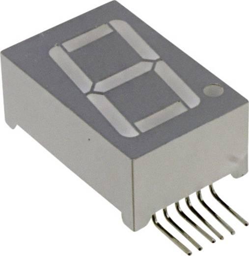 7-Segment-Anzeige Grün 14.2 mm 2.2 V Ziffernanzahl: 1 LUMEX LDS-M512RI-RA