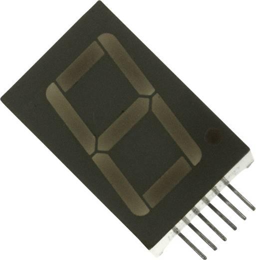 7-Segment-Anzeige Grün 14.2 mm 2.2 V Ziffernanzahl: 1 LUMEX LDS-N512RI-RA