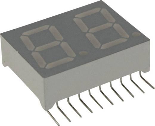 7-Segment-Anzeige Grün 14.2 mm 2.2 V Ziffernanzahl: 2 LUMEX LDD-M512RI-RA