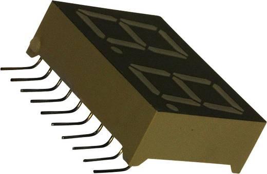 7-Segment-Anzeige Grün 14.2 mm 2.2 V Ziffernanzahl: 2 LUMEX LDD-N512RI-RA