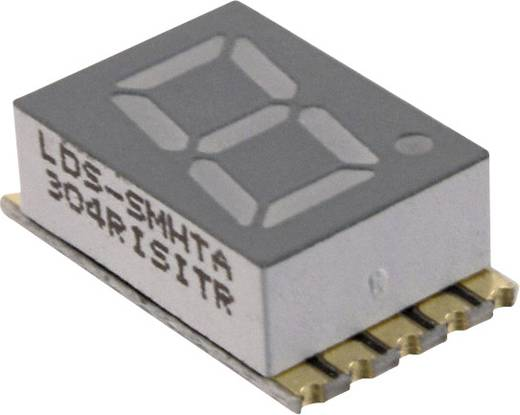 7-Segment-Anzeige Rot 7.62 mm 1.95 V Ziffernanzahl: 2 LUMEX LDS-SMHTA304RISITR